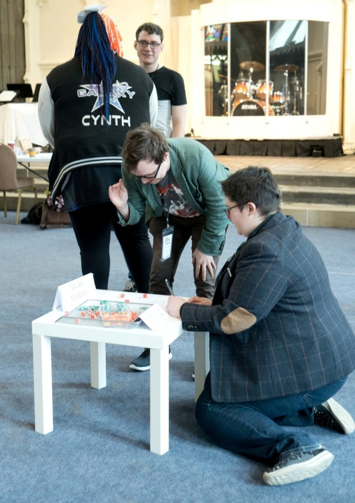 Lesson dice - Trope High Megagame in Photos by BeckyBecky Blogs