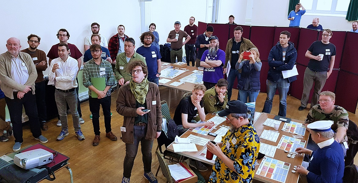 Operational players - Undeniable Victory Megagame After Action Report by BeckyBecky Blogs