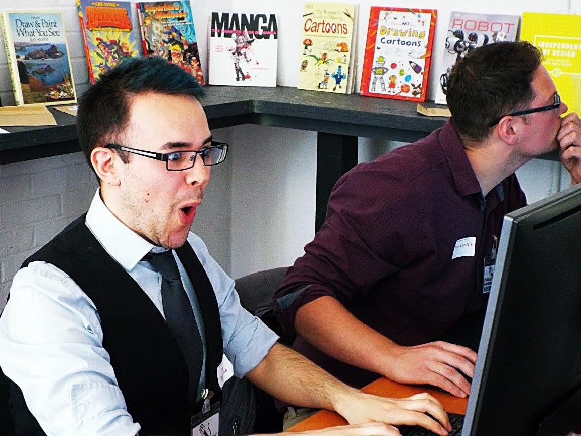 Press team at Urban Nightmare - Press at Megagames by BeckyBecky Blogs 