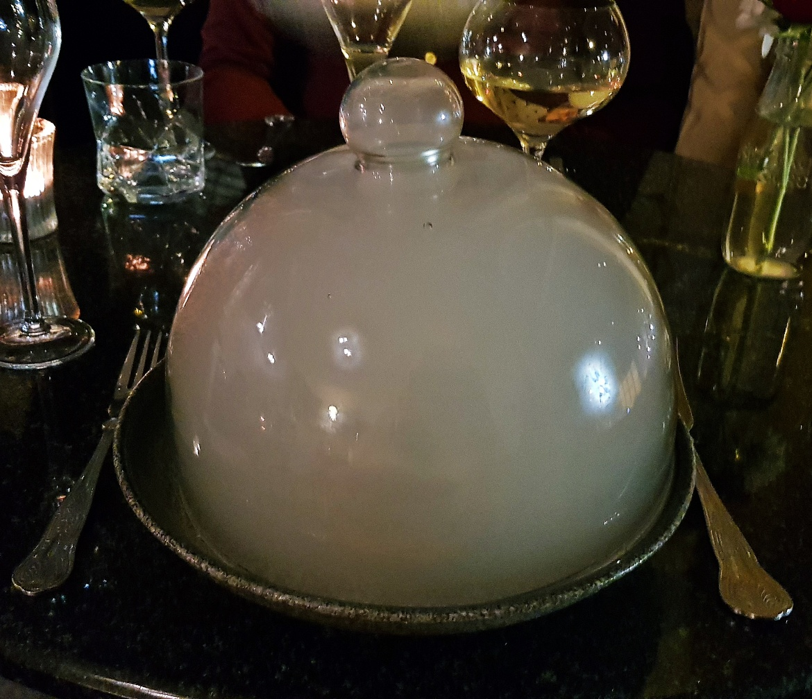 Glass dome - Vice and Virtue Leeds Restaurant Review by BeckyBecky Blogs