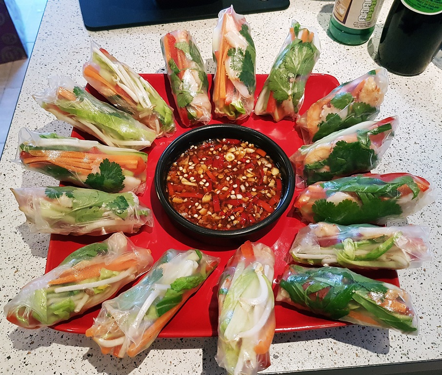 Vietnamese Summer Rolls - Recipe by BeckyBecky Blogs