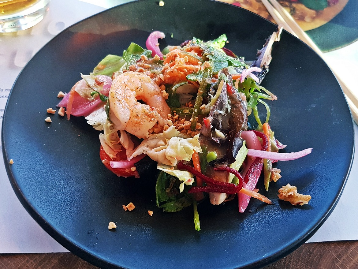Pad Thai salad - Wagamama Menu Pairing, Review by BeckyBecky Blogs