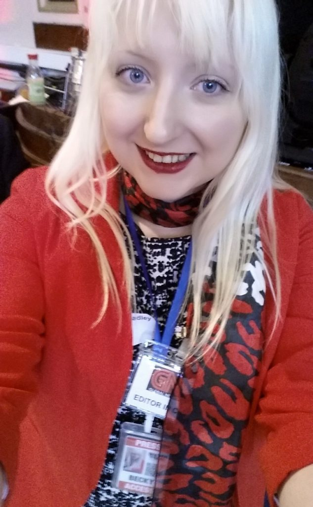 My press outfit - From the Achives, Watch The Skies 2 Megagame Report by BeckyBecky Blogs