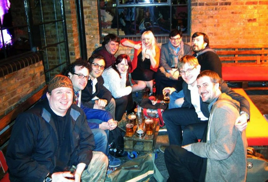Pub after the game - From the Achives, Watch The Skies 2 Megagame Report by BeckyBecky Blogs