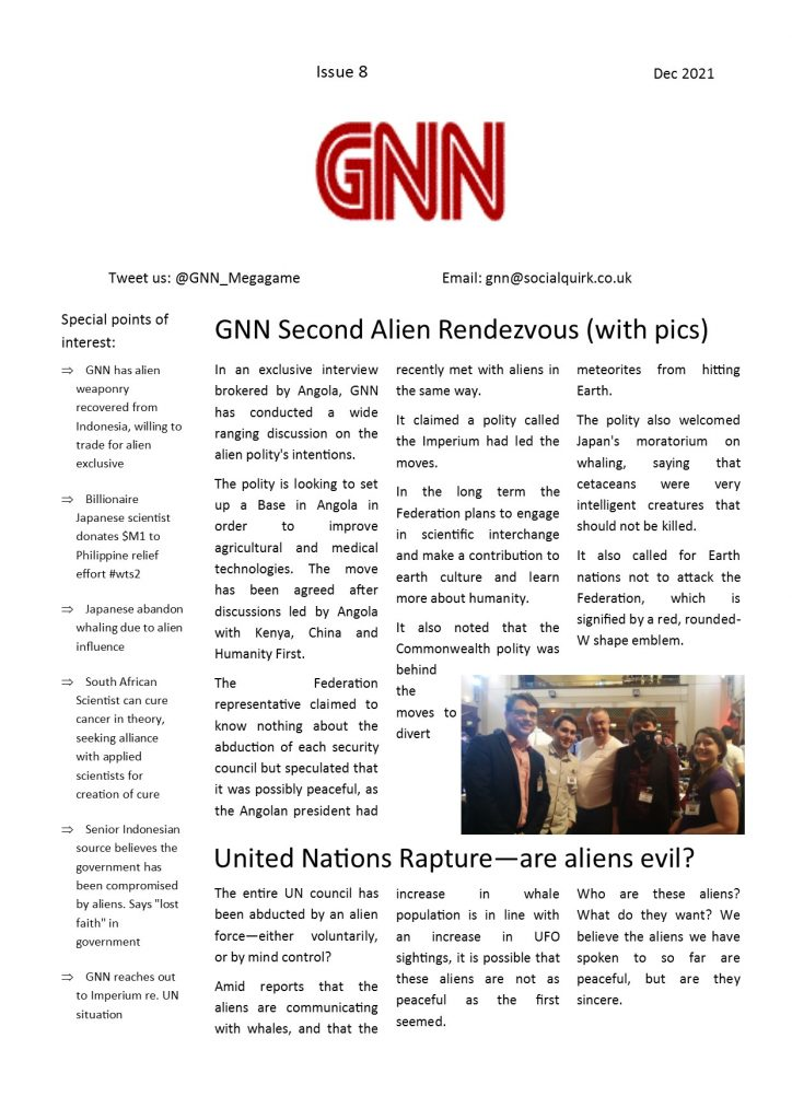 Watch The Skies GNN issue 8