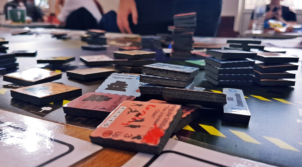 A World Divided megagame after action report by BeckyBecky Blogs
