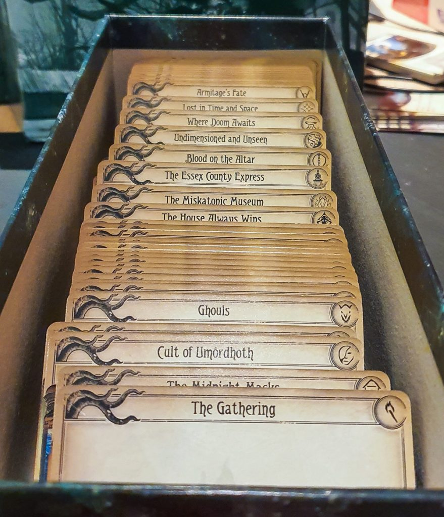 Arkham Horror Living Card Game - Geeky Present Haul from BeckyBecky Blogs
