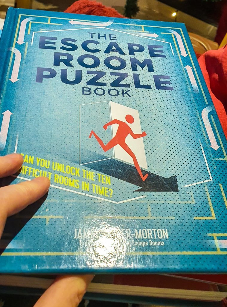 The Escape Room Puzzle Book - Geeky Present Haul from BeckyBecky Blogs