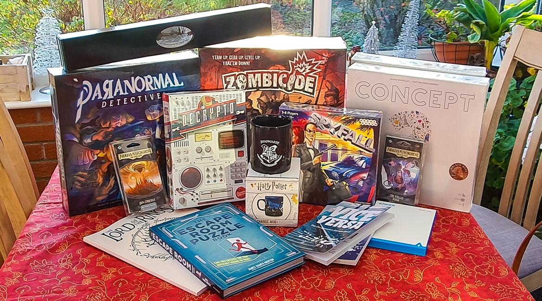 Geeky Present Haul from BeckyBecky Blogs